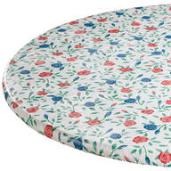 Buds 'n Blooms Vinyl Elasticized Tablecovers
