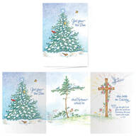 God Grew the Tree Non-Personalized Card Set of 20