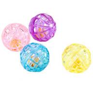 Lattice Balls with Bells, Set of 4