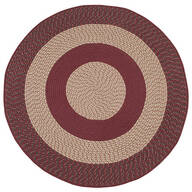 Multi-Color Round Braided Rug by OakRidge Accents™