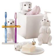 Dog Bathroom Accessories, Set of 4 by OakRidge™