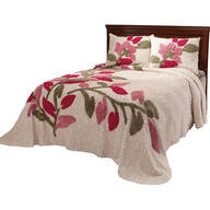 The Marilyn Chenille Bedspread by OakRidge Comforts™