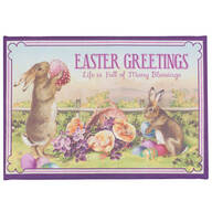 Easter Greetings Lighted Canvas by Northwoods™