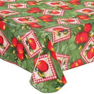 Apple Patch Vinyl Tablecover by Home-Style Kitchen™