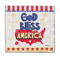 """""""God Bless America"""" Visor Clip"""