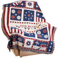Americana Blessings Tapestry Throw by OakRidge™
