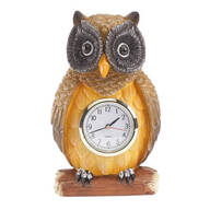 Resin Owl Clock