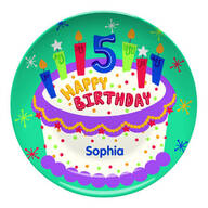 Personalized Happy 5th Birthday Plate