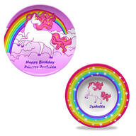 Personalized Fantasy Plate & Bowl Set