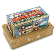 Melissa & Doug® Personalized Vehicles Sound Blocks