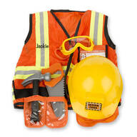 Melissa & Doug® Personalized Construction Worker Costume Set