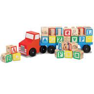Melissa & Doug® Wooden Alphabet Truck