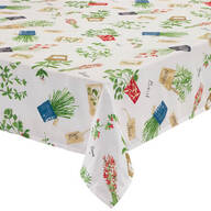 Potted Herbs Tablecloth by OakRidge®