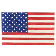 American Flag Wood Plaque