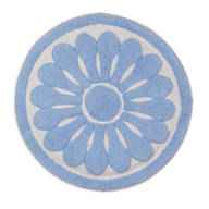 Round Floral Bath Rug by OakRidge™