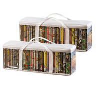 DVD Storage Case - Set of 2