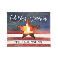 Personalized Lighted Patriotic Canvas by Holiday Peak™