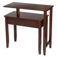 Two-Tier Swivel Table by OakRidge™
