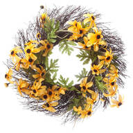 Black-Eyed Susan Grapevine Wreath