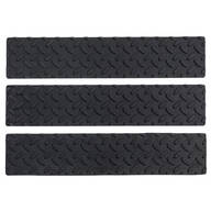 Indoor/Outdoor Rubber Stair Treads, Set of 3