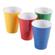 Melamine Picnic Cups - Set of 4