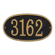 Fast & Easy Oval House Number Plaque