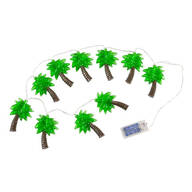 Palm Tree String Lights, 10 Count