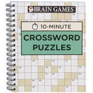 Brain Games® 10-Minute Crossword Puzzles