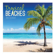 Tropical Getaway Wall Calendar