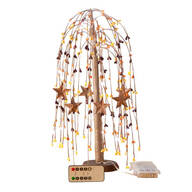 Lighted Fall Willow Tree