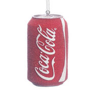 Sparkly Coca-Cola® Ornament