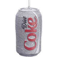 Sparkly Diet Coke® Ornament
