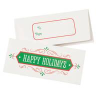 Christmas Money Card Holders, Set of 12