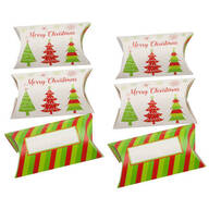 Pillow Treat Boxes, Set of 6