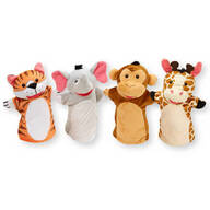 Melissa & Doug® Zoo Friends Hand Puppets, Set of 4