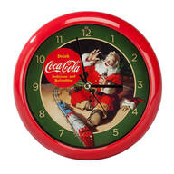 Coca-Cola® Christmas Carol Clock