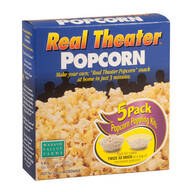 Real Theater Popcorn, 5 Pack