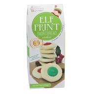 Elf Print Cookies