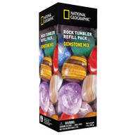 National Geographic™ Rock Tumbler Refill Pack, Gemstone Mix