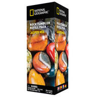 National Geographic™ Rock Tumbler Refill Pack, Jasper Mix