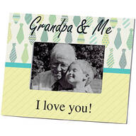 Personalized Grandpa & Me Picture Frame – Custom Frame