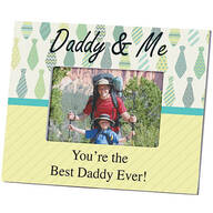 Personalized Daddy & Me Custom Frame