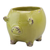 Ceramic Pig Planter