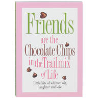"""""""Friends are the Chocolate Chips"""" Book"""