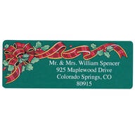 Christmas List of Blessings Address Labels Set of 200