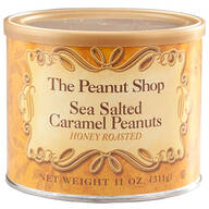 The Peanut Shop® Sea Salted Caramel Peanuts