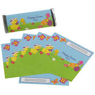 Personalized Candy Bar Wrappers Chick