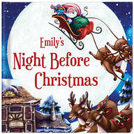 Personalized My Night Before Christmas Storybook