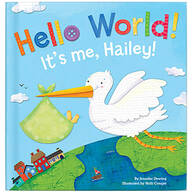 Personalized Hello World! for Boys Storybook