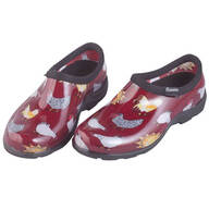 Sloggers® Chicken Print Waterproof Garden Shoes